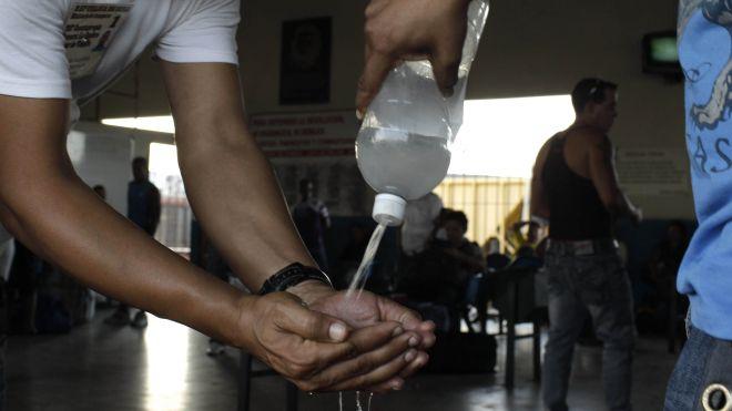 Cholera disinfectant