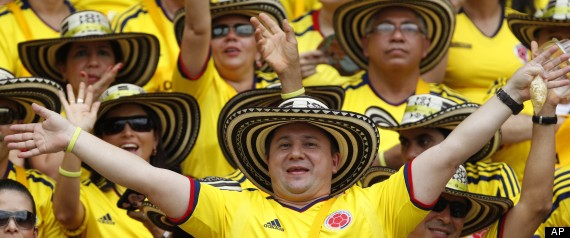 Colombia Paraguay Wcup Soccer