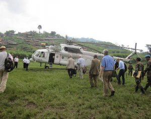 Helicopter-congo