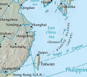 East_China_Sea_Map
