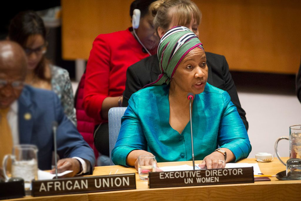 Security Council meeting - Women and peace and security