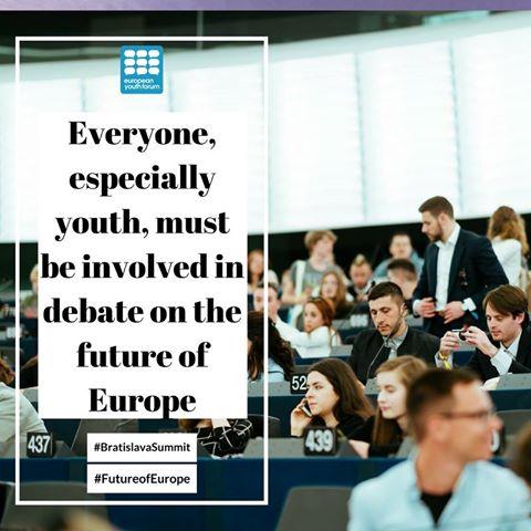 Снимка: Faceboo/European Youth Forum