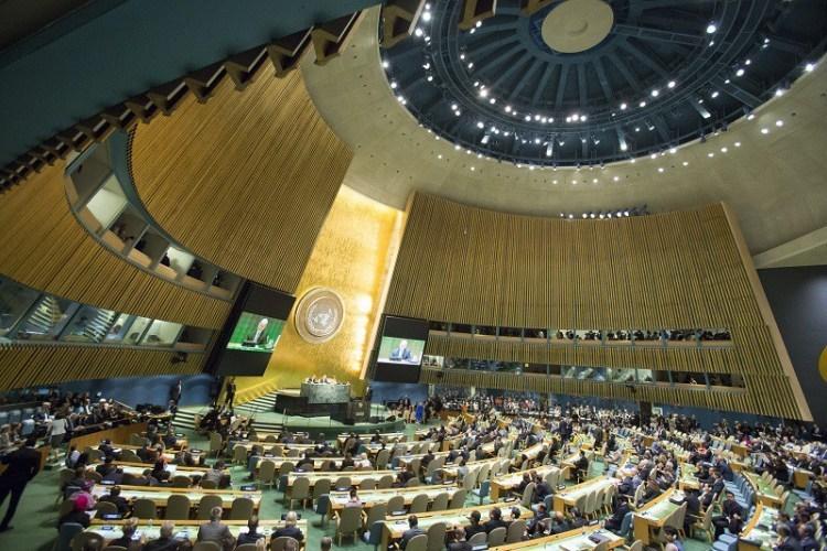 Резултат с изображение за ООН е свикано за първи път в Ню Йорк.